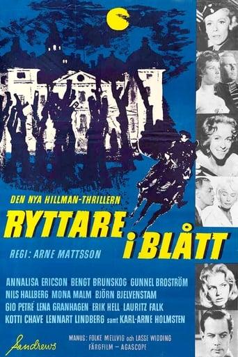 Poster of Ryttare i blått