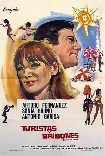 Poster of Turistas y bribones