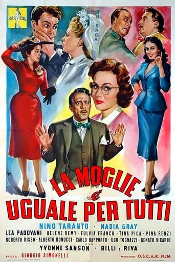 Poster of La moglie è uguale per tutti