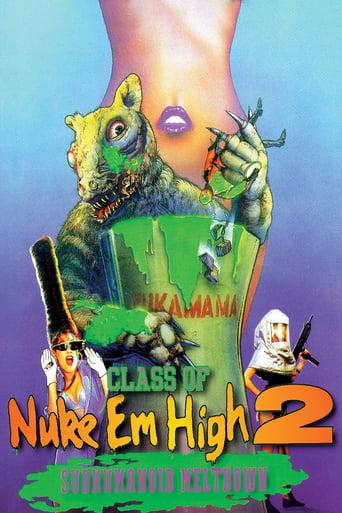 Poster of Class of Nuke 'Em High 2: Subhumanoid Meltdown