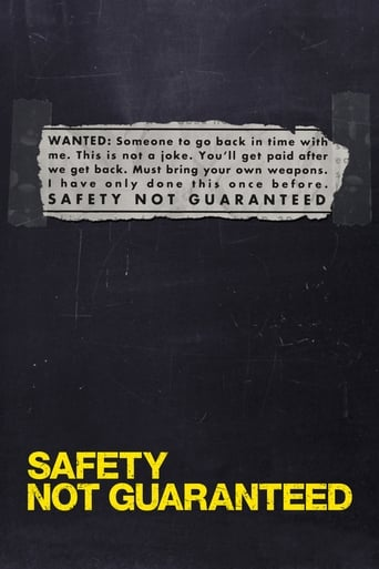 Poster of Safety Not Guaranteed