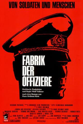 Poster of Fabrik der Offiziere