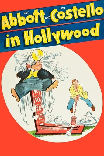 Poster of Bud Abbott and Lou Costello in Hollywood