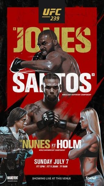 Poster of UFC 239: Jones vs. Santos