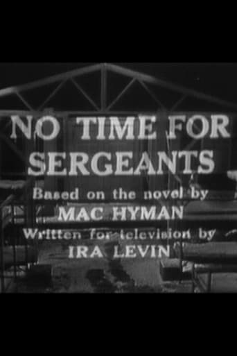 Poster of No Time for Sergeants