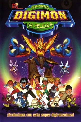 Poster of Digimon: La película