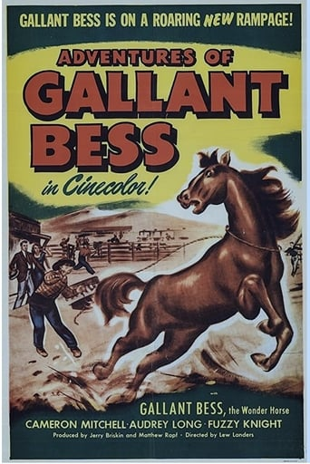 Poster of Adventures of Gallant Bess