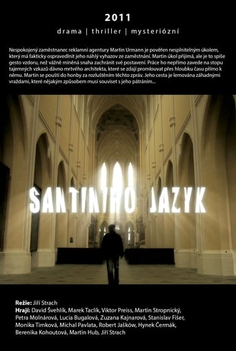 Poster of Santiniho jazyk