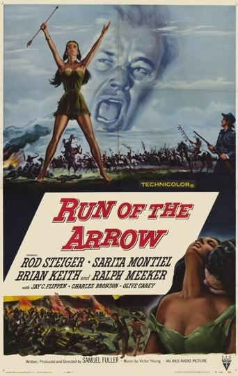 Run of the Arrow poster
