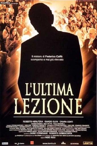 Poster of L'ultima lezione