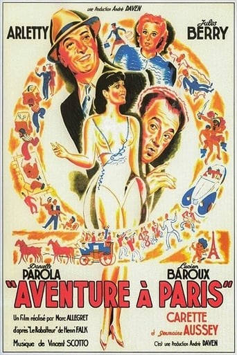 Poster of Aventure à Paris