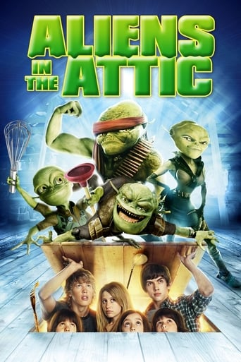 Poster of Aliens in the Attic