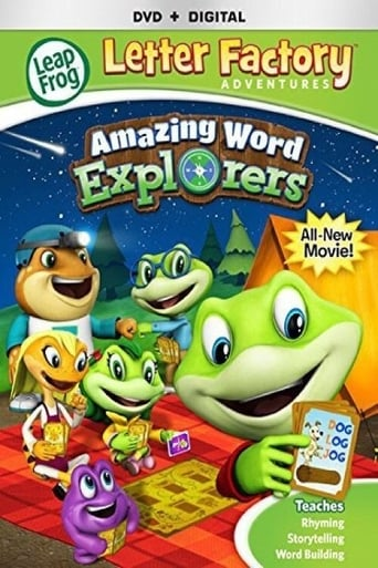 Poster of LeapFrog Letter Factory Adventures: Amazing Word Explorers