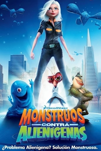 Poster of Monstruos contra alienígenas
