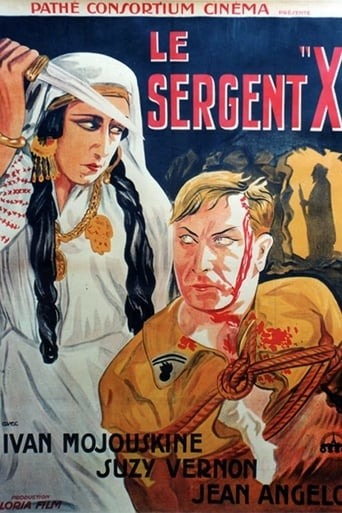 Poster of Le sergent X