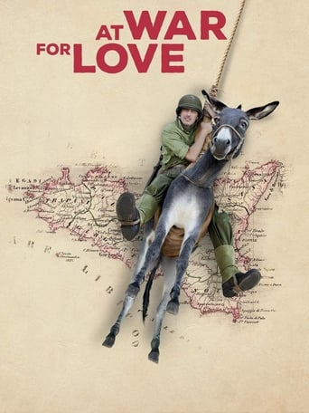 Poster of At War for Love