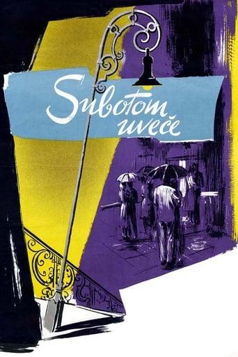 Poster of Subotom uveče