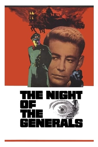 Poster of The Night of the Generals