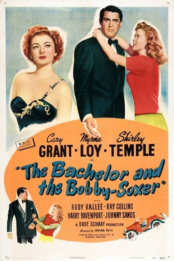 Poster of The Bachelor and the Bobby-Soxer