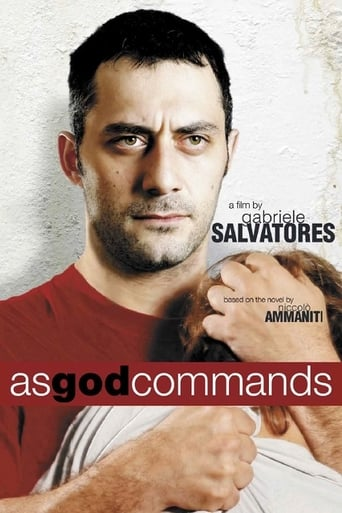 Poster of As God Commands