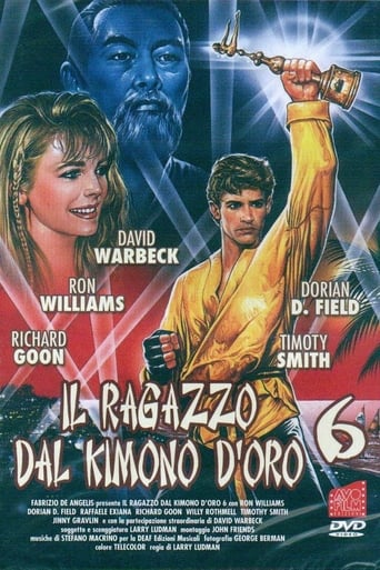 Poster of Karate Warrior 6