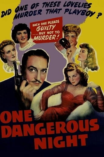 Poster of One Dangerous Night
