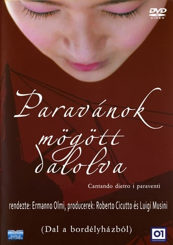 Poster of Cantando dietro i paraventi