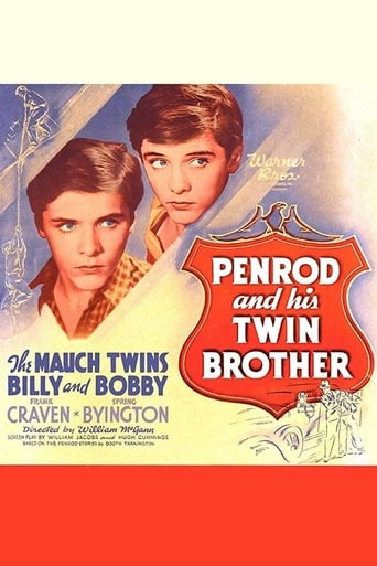 Poster of Penrod and His Twin Brother