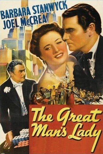Poster of The Great Man's Lady