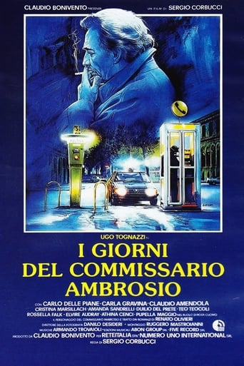Poster of Days of Inspector Ambrosio