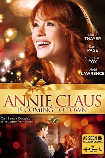 Poster of Annie Claus Is Coming to Town