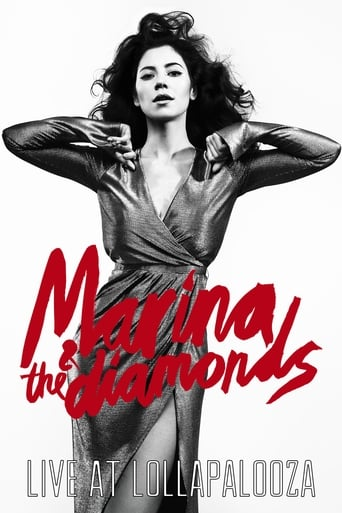 Poster of Marina and the Diamonds Live at Lollapalooza