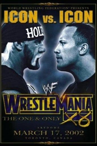 Poster of WWE Wrestlemania X8