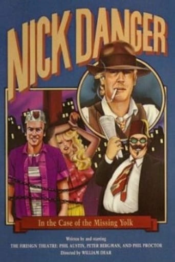 Poster of Nick Danger in the Case of the Missing Yolk