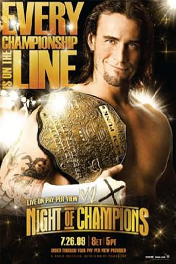 Poster of WWE Night of Champions 2009