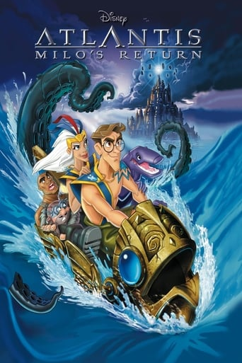 Poster of Atlantis: Milo's Return