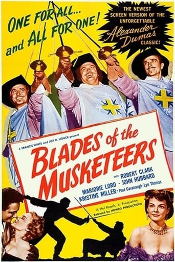 Poster of Blades of the Musketeers