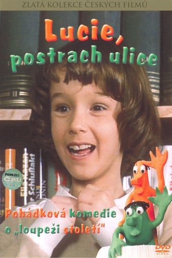 Poster of Lucie, postrach ulice