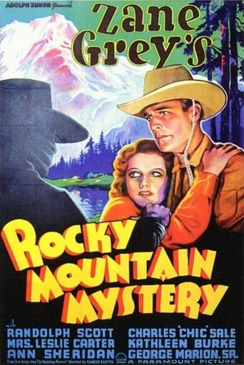 Poster of Rocky Mountain Mystery