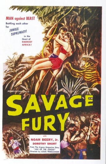 Poster of Savage Fury