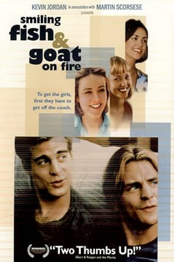 Poster of Smiling Fish & Goat On Fire