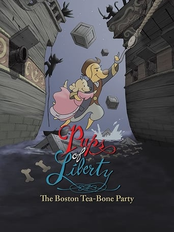 Poster of Pups of Liberty: The Boston Tea-Bone Party