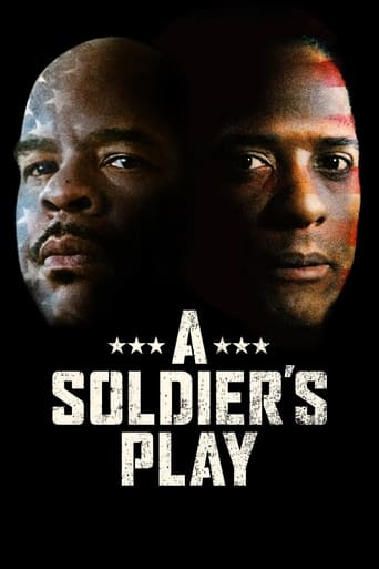Poster of A Soldier's Play