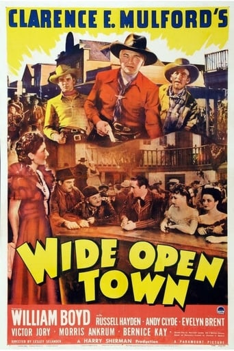 Poster of Wide Open Town