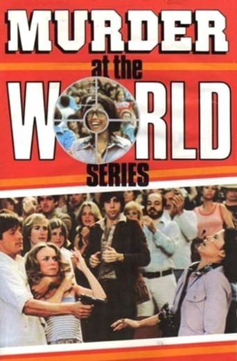 Murder at the World Series poster