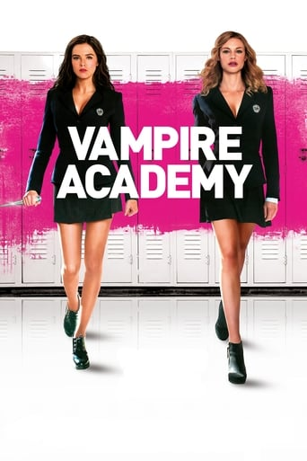 Poster of Vampire Academy
