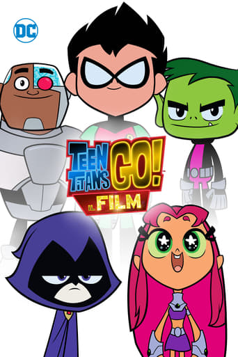 Poster of Teen Titans Go! Il film