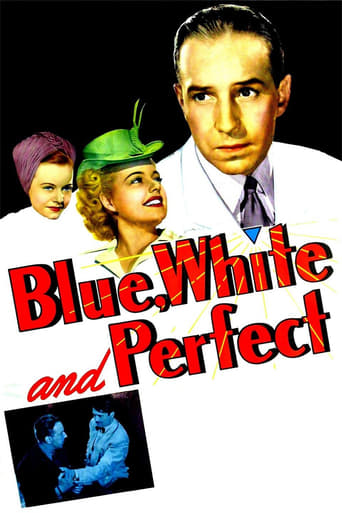 Poster of Blue, White, and Perfect