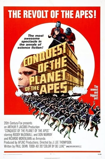 Poster of Conquest of the Planet of the Apes