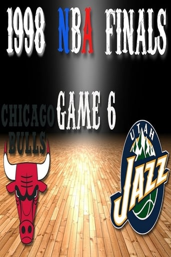 Poster of 1998 NBA Finals, Game 6: Chicago Bulls vs. Utah Jazz